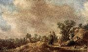 Jan van Goyen Haymaking oil painting artist